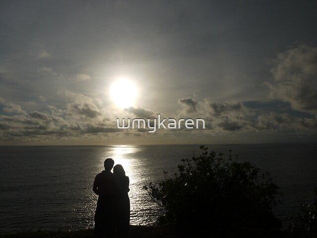 Bali sunset by wmykaren