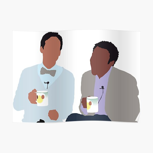 Troy and Abed Poster