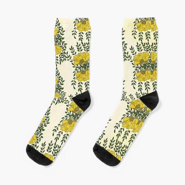 Kowhai Flowers Socks