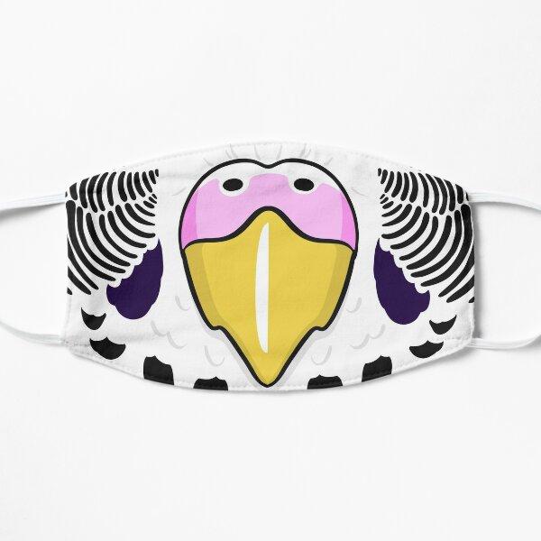 Budgie Beak Mask | White Pink Mask
