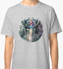 Ashitaka Demon Mononoke Digital Painting Classic T-Shirt