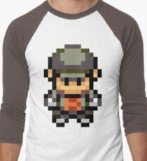 Rocket Grunt Overworld Sprite Men's Baseball ¾ T-Shirt