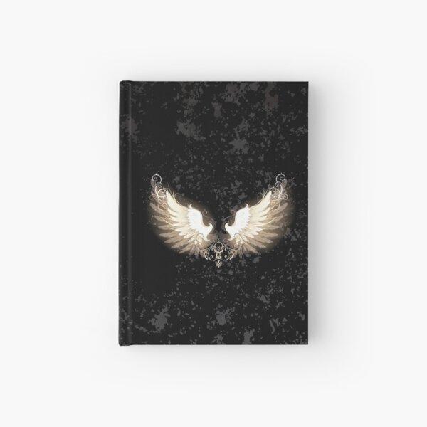 Leichte Flügel (Weiße Flügel) Notizbuch