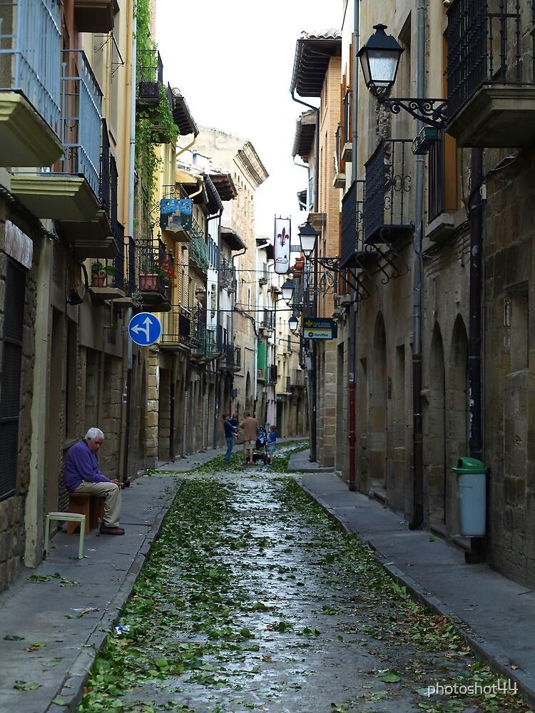 Street in Olite by photoshot44