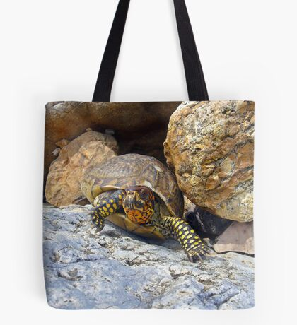 Camouflage Turtle  Tote Bag