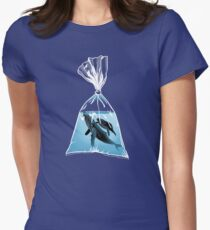 Small World 2 Women's Fitted T-Shirt