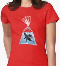 Small World 2 Womens Fitted T-Shirt