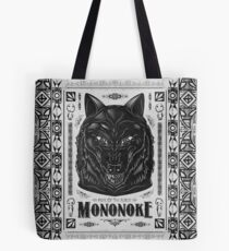 Pride of the Forest Wolf Mononoke Geek Line Artly Tote Bag
