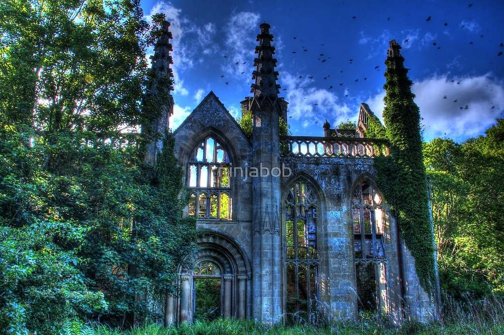 Crawford Priory,HDR. by ninjabob
