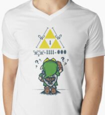 A Link to the Math Men's V-Neck T-Shirt