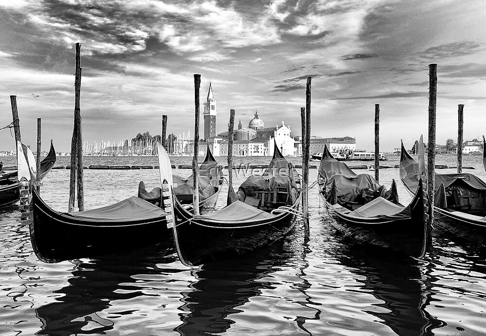 Venice Black and White by Eric Wester