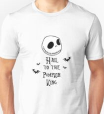 Nightmare Before Christmas - Hail to the Pumpkin King v4.0 T-Shirt