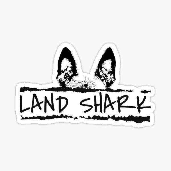 Land shark Sticker