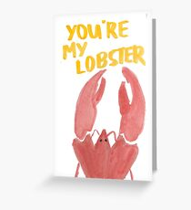 "Friends: ""Lobster"" Greeting Card"