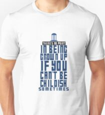 Doctor Who TARDIS Quote Unisex T-Shirt