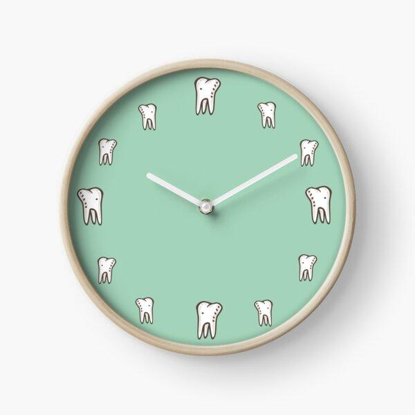 Teeth, Teeth, Teeth Clock