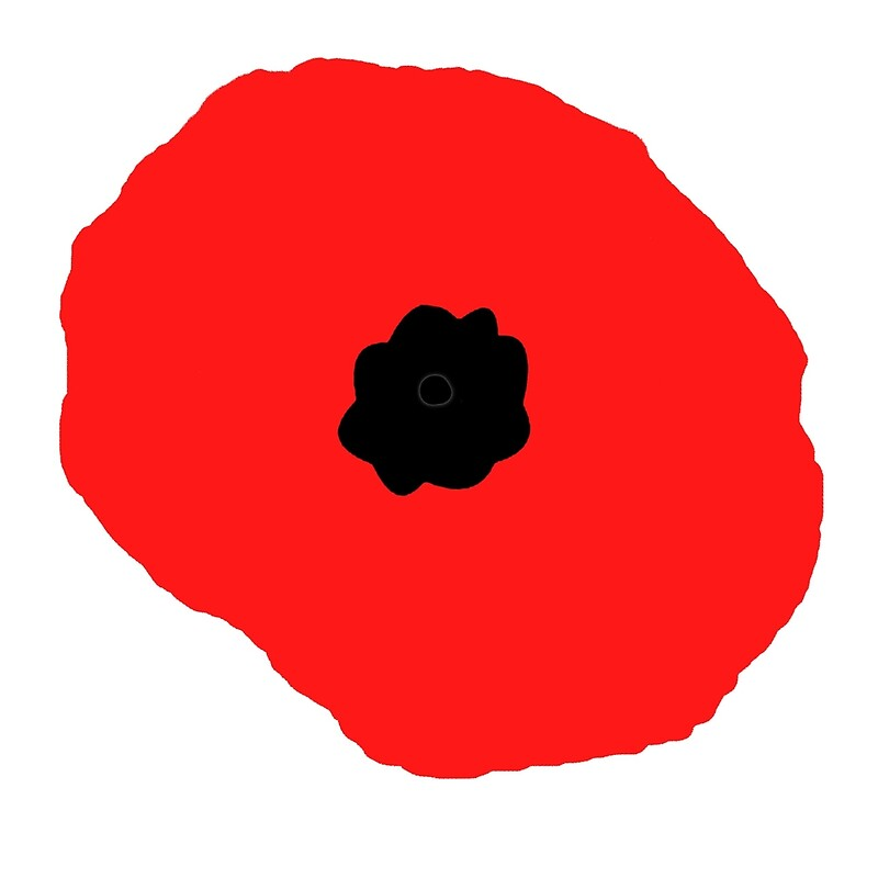"""Armistice Day, Simple Poppy, Old Soldier, Remembrance Day"
