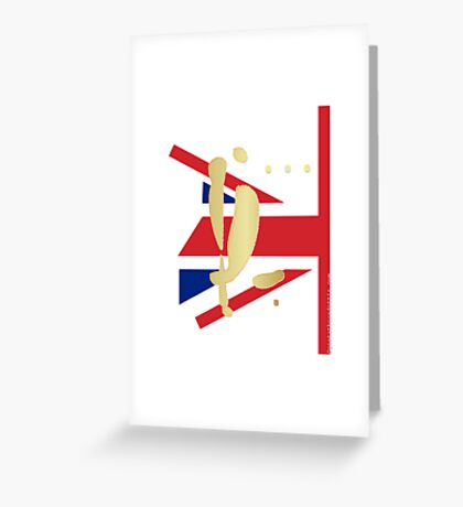 YL in London Greeting Card