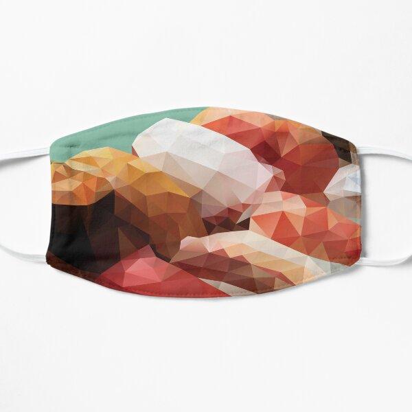 Nigiri Sushi Platter Polygon Art Mask