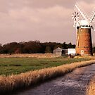 Horsey mill on the broards in norfolk by Mark Bunning