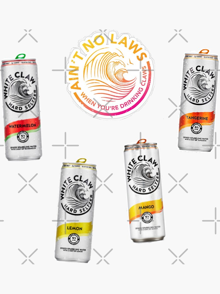 white claw variety pack stickers by jordanclemons