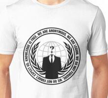 Anonymous Logo with Slogan Unisex T-Shirt