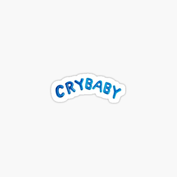 Cry Baby Sticker