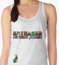 Owlvengers Assemble Women's Tank Top
