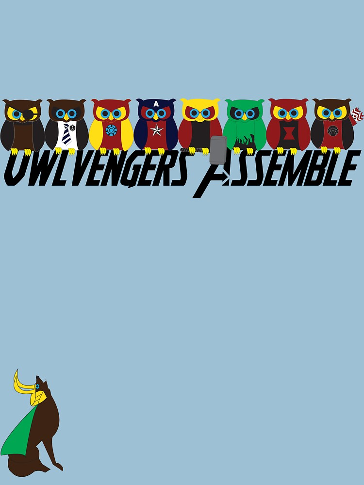 Owlvengers Assemble | Unisex T-Shirt