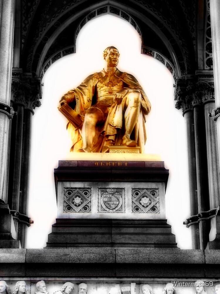 Prince Albert memorial, London by Wintermute69