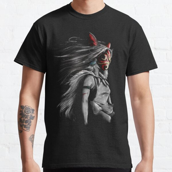 Fury of the Princess Anime Digital Painting Classic T-Shirt