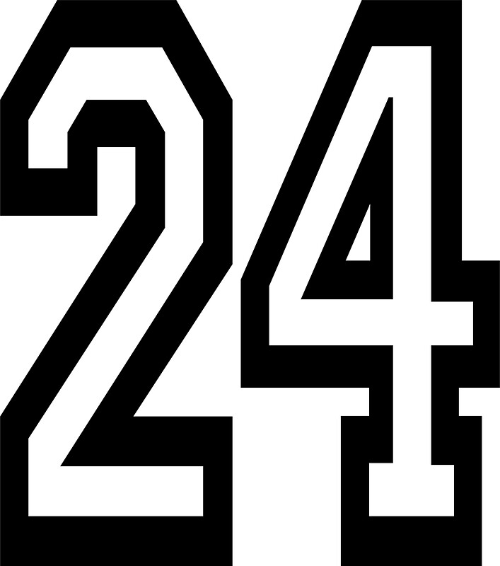 Number 24 Logo | www.pixshark.com - Images Galleries With ...
