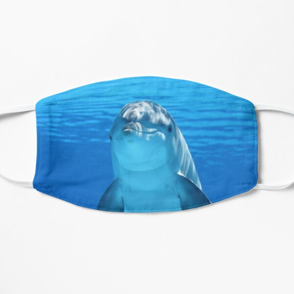 Friendly dolphin face mask Mask