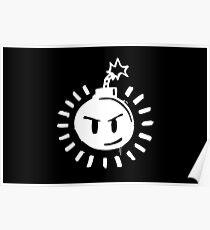 Funny Bomb - Black T Poster