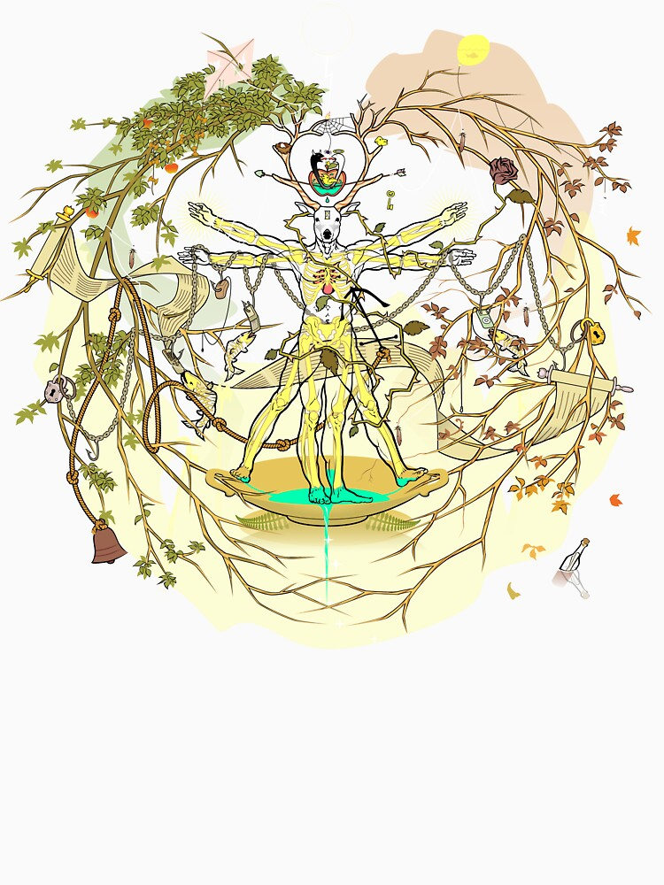 Entangled Vitruvian by ProminentDetail