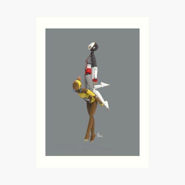 Nono&Hana dream fly Art Print