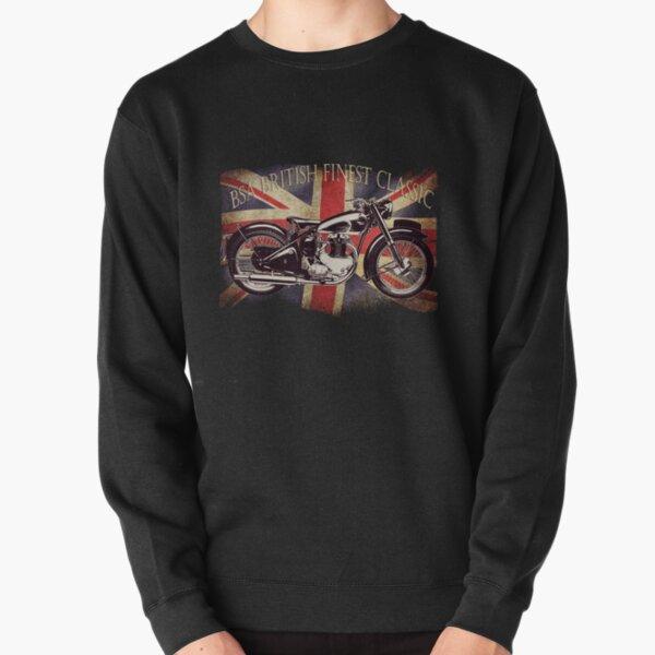 BSA British Finest Motorcycle Pullover Sweatshirt