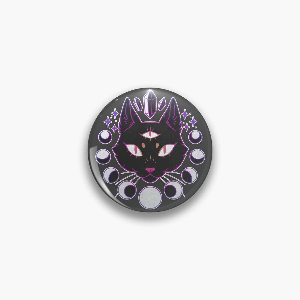 Lunar Cat Pin