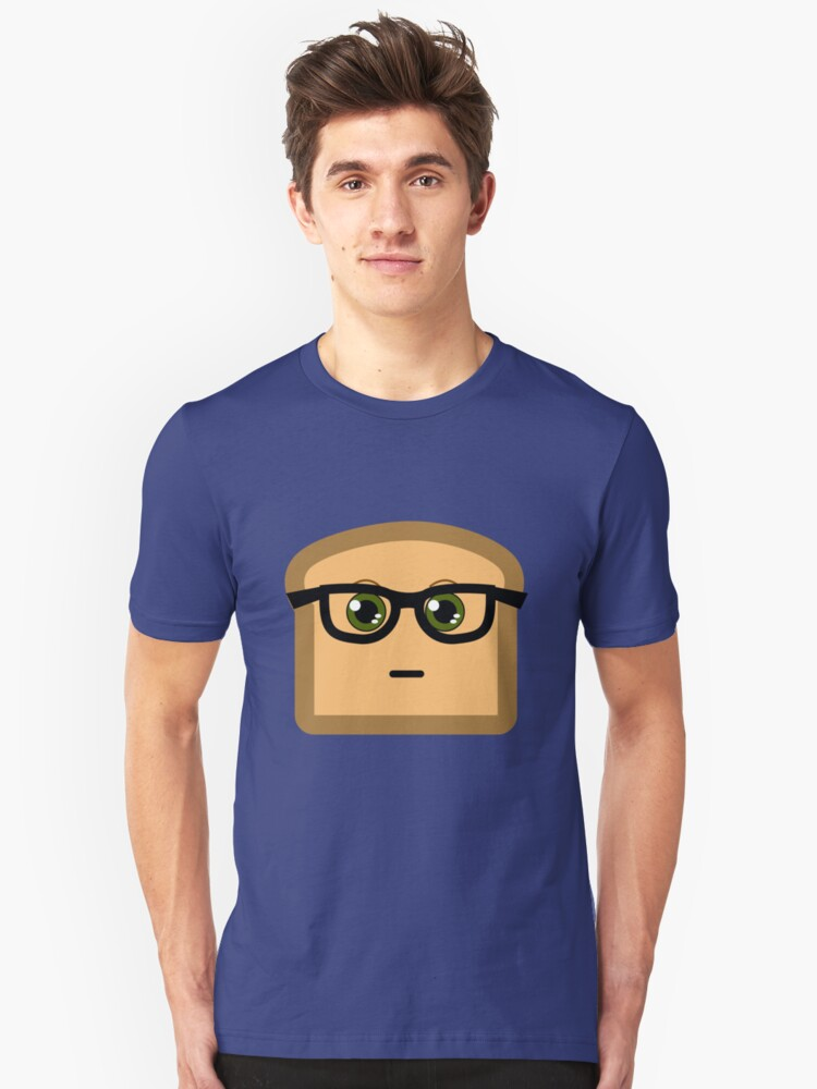 Hipster Toast Unisex T-Shirt Front