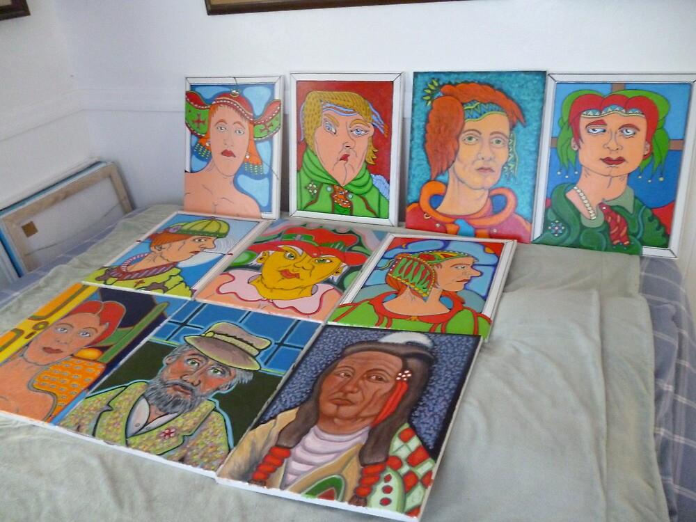 ten newly glazed art works by madvlad