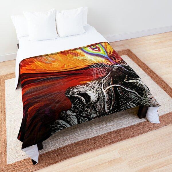 alex grey the eye dream 2020 design garpu Comforter