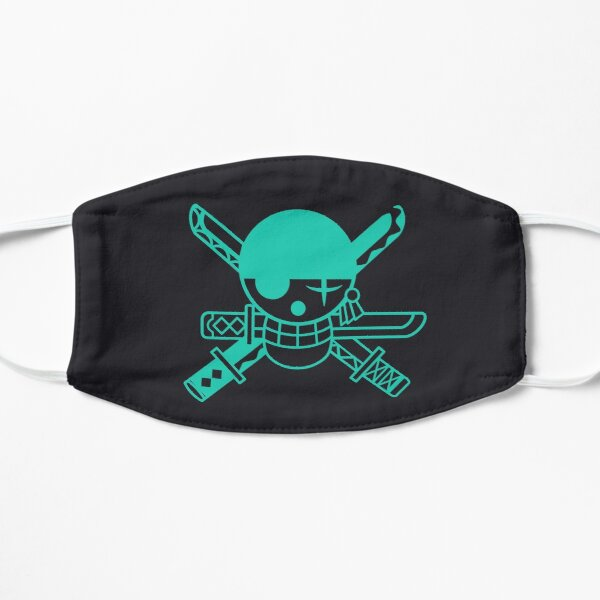 Roronoa Zoro One Piece Jolly Roger Masque sans plis