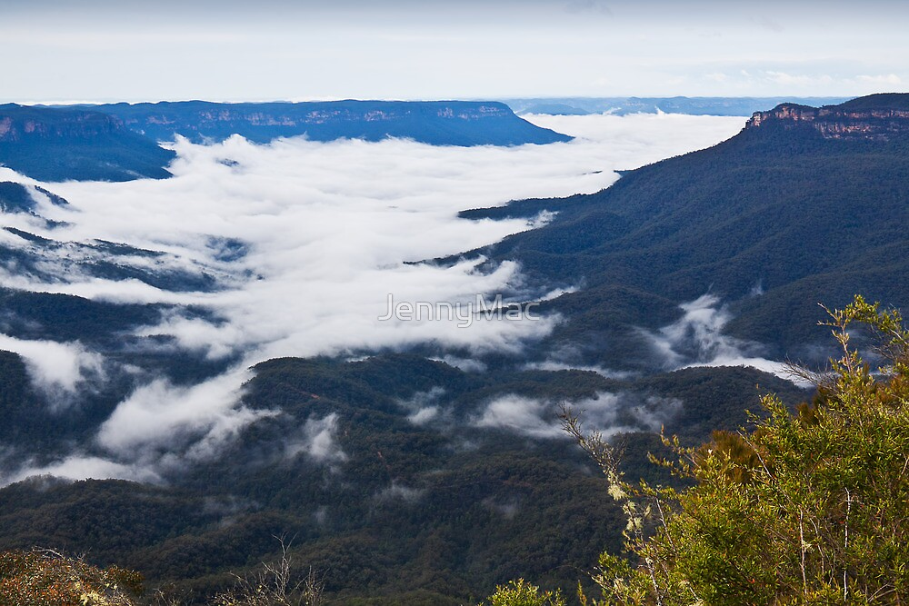 Sublime Point - Blue Mountains NSW Australia by JennyMac