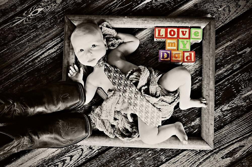 Daddy's Little Man by lisamgerken