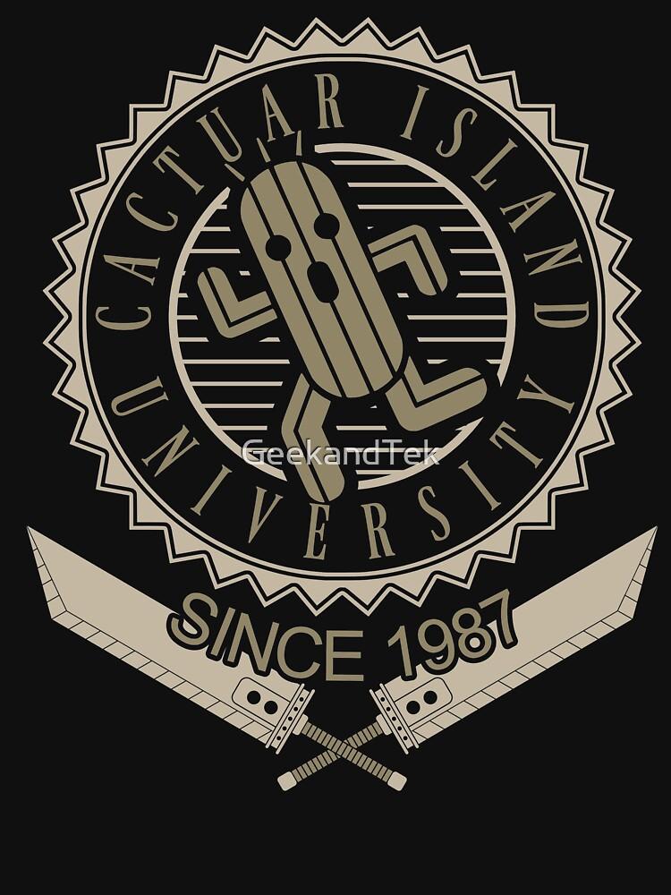 Cactuar university | Unisex T-Shirt