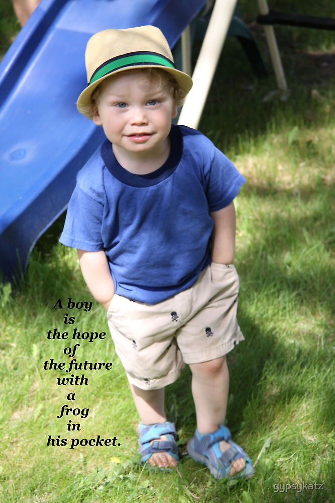 Chase... A Boy Is... by gypsykatz