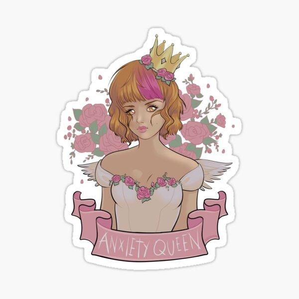 Anxiety Queen  Sticker