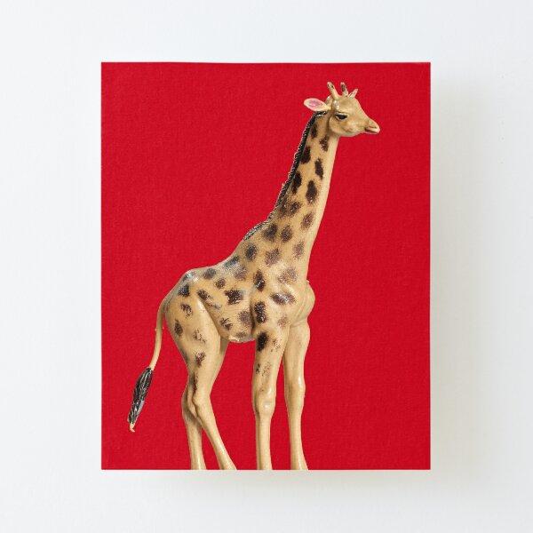 PLASTIC FANTASTIC: Giraf Canvas Mounted Print