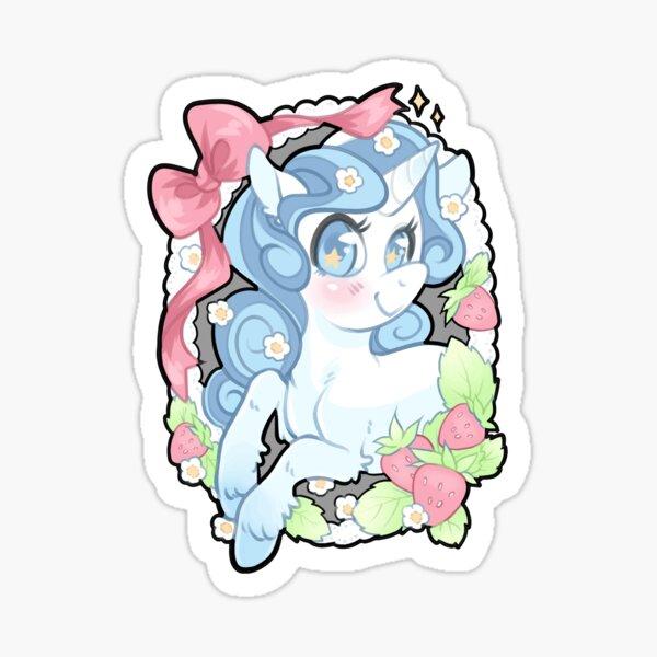 Strawberry Unicorn Sticker