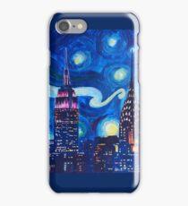 Starry Night in New York - Van Gogh inspired iPhone Case/Skin